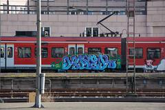 _DSC7774 (Under Color) Tags: hannover sbahn graffiti train zug db strain subway subwayart traingraffiti steel german niedersachsen