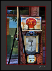 Out of Gas (the Gallopping Geezer '4.5' million + views....) Tags: generalstore store business storefront gas fuel shell pump gaspump abandoned weathered decay decayed worn faded neglected derelict crossroads rural country kilmanagh mi michigan thumb baclroads backroad roadtrip canon geezer 2016