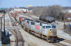 KCS SD70MAC 3912-320 (southernrailway7000) Tags: norfolksouthernrailroad kcssd70mac3912