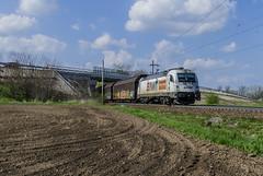183.718 Nová Ves u Kolína 9.4.2017 (David Knap) Tags: vlak železnice nová ves u kolína 183718 railway awt train