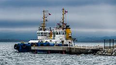 Remolcadores en Talcahuano - Chile/Tugboats at Talcahuano bay (Victorddt) Tags: talcahuano regióndelbiobio remolcadores muelle tugboat nikond7000 nikkor18200
