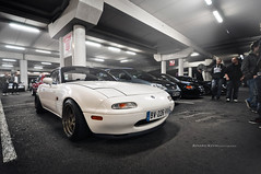 Mazda mx5 (R.K_photography) Tags: winter white slow low na mazda miata jdm mx5 roadster cabriolet eunos wolrdofcars stancenation