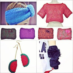 (marie castro knitwear) Tags: detail fashion design knitting designer handmade crochet moda knit knitted mode croche knitwear crochê