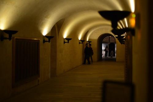 Pantheon Crypt Hallway
