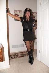 105 (Firehand10k) Tags: sexy halloween costume police wife