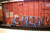 (o texano) Tags: bench graffiti texas houston trains freights sworn benching