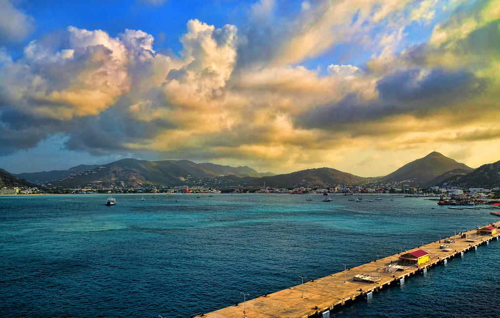 Harbor & Dock at Philipsberg, St. Maarten