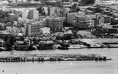 03_Port Fouad - Aerial View 1956 (usbpanasonic) Tags: port canal redsea egypt portsaid mediterraneansea egypte  fouad suez egyptians ismailia egyptiens ismailiaportfouad
