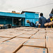Workers load water purifier on a truck in UNICEF Addis Ababa warehouse which will travel to Gambella and Benishangul Gumuz Regions of Ethiopia for South Sudanese refugees.