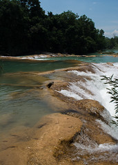Tuliga Agua Azul Water Falls (JavaJoba) Tags: chiapas mexico fam tuliga aguaazul waterfalls hiking nikon d5200 lightroom tourism travel outdoor water river