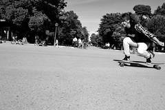 Longboard (jessicadelgadoarias) Tags: madrid parque espaa sun smile long longskate skate longboard retiro tabla angelcaido