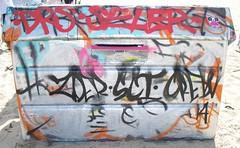 Zoer (Visual Chaos) Tags: graffiti tag bin sci zoer losangelesgraffiti venicebeachgraffiti zoersci crewtrash zoerscicrew