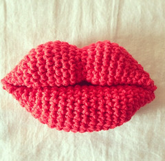 Amigurumi Lips Pattern : The Worlds most recently posted photos of amigurumi and ...
