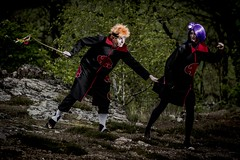 Naruto! (Xubaet) Tags: anime nature easter costume pain couple prague cosplay manga cosplayer tradition naruto 2014 czechia akatsuki konan courtingcouple cosplaying pomlázkam
