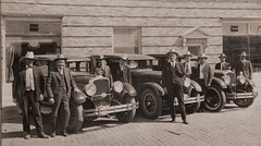 Pollard, Wylie Perry, Potter Co., Texas Sheriff - sepia, resized 16 inch (WY Man) Tags: old family cars 1932 1931 downtown texas cops grandmother grandfather police amarillo guns sheriff greatgrandfather 1928 oldcars 1934 automobiles 1925 1920 arrest prohibition 1929 pollard 1930 1933 detective 1935 1926 1927 officers