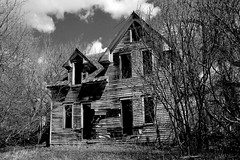 My Wrath Shall cometh to U (Ackermans Finest Photography~ ( see the Sets+) Tags: house abandoned monster adams north dakota nearer