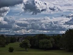 Wolkenlandschaft über Saarlouis (michaelmeiser) Tags: wolken saarlouis pseudohdr wolkenlandschaft steinrausch hyperrealismus