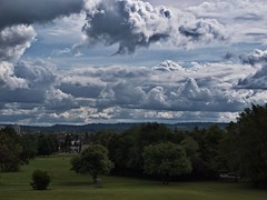 Wolkenlandschaft ber Saarlouis (michaelmeiser) Tags: wolken saarlouis pseudohdr wolkenlandschaft steinrausch hyperrealismus