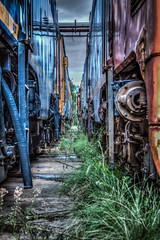 Retired locomotives (Chas56) Tags: train rustic railway loco trains newport 7d locomotive locomotives newportworkshops workshopsrailway workshopsworkshopsindustrialhdrcanoncanon