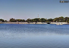 HDR lakhota lake jamnagar (akshaypatil™ ® photography) Tags: lake hdr jamnagar lakhota