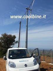 16 Gaia Wind 133 10kW turbina mini eolico azienda agricola Coolbine