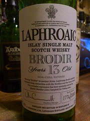 Laphroaig 13yo 50.5% Brodir (eitaneko photos) Tags: tokyo bottle october single whisky cl laphroaig 505 2012 malt 13yo brodir