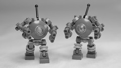 Infantry drones (N-11 Ordo) Tags: white black infantry upload little concept obligatory ordo drones n11