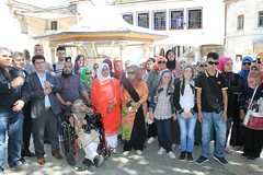 Eyup Sultan Mosque 097 (birliktedahaguzel) Tags: pakistan turkey iran tunis egypt azerbaijan jordan macedonia kosovo albania montenegro bosniaandherzegovina ailevesosyalpolitikalarbakanl lokmanarc birliktedahagzelkampanyas baclarbelediyesi uluslararasyemekyarmas altntencerednyadlleri birlikteyemekyapyoruzprojesi baclarengellilersaray internationalcookingcompetition