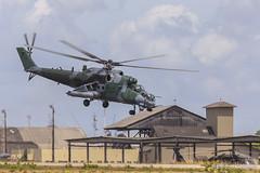 AH-2 Sabre (MI-35) (Enilton Kirchhof) Tags: canon sabre helicoptero ah2 forcaaereabrasileira brazilianairforce mi35 canoneos5dmarkii bantbaseaéreadenatal cruzexflight2013