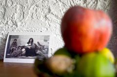 May 21, 2014 (THE ZEN DIARY / David Gabriel Fischer) Tags: food david gabriel apple photography photo diary journal buddhism altar zen meditation fischer zazen