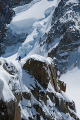 Alpinism III. (magyaatt) Tags: white snow france mountains alps ice nature french landscape photography europe du alpine midi mont blanc alpinism aiguille