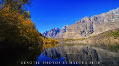 Peace !! (C@MARADERIE) Tags: autumn pakistan sky lake color reflection nature water landscape colorful natural nopeople naturism colorimage skardu kachura upperkachura skarduvalley lakeofpakistan lakesofpakistan lakeupperkachura naturismphotography