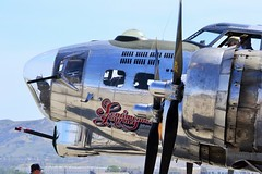 B-17G Sentimental Journey (Stephen S...) Tags: world 2 vintage airplane war aircraft aviation historic airshow ww2 mustang warbirds chino p51 p47