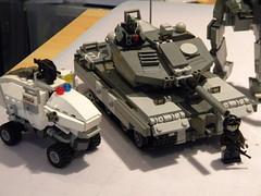 Things n' stuff (AKA killer54321) Tags: cool tank lego military beanz mech drone