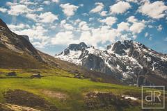 Collado de Pandbano. Asturias (alaitz ruiz) Tags: asturias viajes cielo monte montaa mendia zerua naranjo bulnes bidaiak