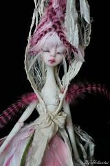 Nefer Kane Ettie OOAK by me: the pink flamingo girl sold out (heliantas) Tags: doll ooak bjd kane ettie nefer heliantas