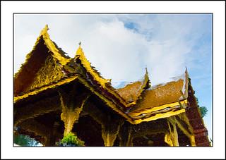 Madison - Olbrich Thai Pavilion Reflection  *** Explored 6/28/14 #161 ***