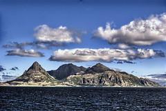 Somewhere above polar circle (Sirius!) Tags: sea mountains norway clouds circle landscape island polar lofoten
