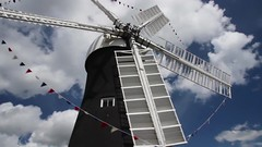 Holgate Windmill with bunting - video (1)
