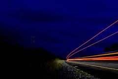 One truck, Many lights,,,,, (Aidophoto) Tags: road ireland light sky irish night truck nikon motorway tracks nightsky lighttrails roads nikkor limerick nikond7100