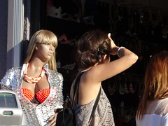 The mannequins are watching us (ashabot) Tags: street losangeles streetscenes