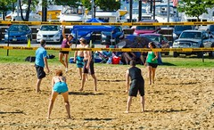 2014-07-04 BBV Hat Draw Tournament (96) (cmfgu) Tags: holiday net beach sports ball court md sand outdoor 4th july maryland baltimore tournament bikini volleyball coed athlete fourth independenceday league 4s innerharbor fours bbv rashfield hatdraw