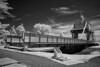 Pegasus Bridge IR B&W (Pete Fletcher Photography) Tags: