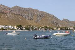 Scenic, the resport of Puerto Pollensa, Mallorca (egcc) Tags: sea mountain holiday bay boat harbour yacht resort hillside mallorca majorca puertopollensa