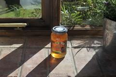 Sunlight (Ed.ward) Tags: birthday light england sunlight house kitchen cottage hampshire isleofwight windowsill marmalade 2014 grangefarm goldenshred brighstonebay ashsbirthday nikonafzoomnikkor2880mmf3556d nikond700