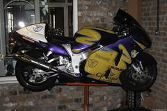 DSCN0117 (Betapix) Tags: west coast paint lift corona motorcycle suzuki rizer eazy hayabusa gsx1300r akrapovic