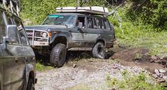 Windy Ridge washout (fantomdesigns) Tags: road camping mud 4x4 off trail toyota land washout cruiser