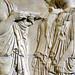 Plaque of the Ergastines, detail of left edge