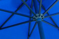 Blue Umbrella (vickilw) Tags: blue black umbrella 365daysincolour
