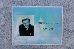 Mickey Rooney (1920-2014) (twm1340) Tags: ca cemetery june losangeles mickeyrooney hollywood marker forever temporary 2014